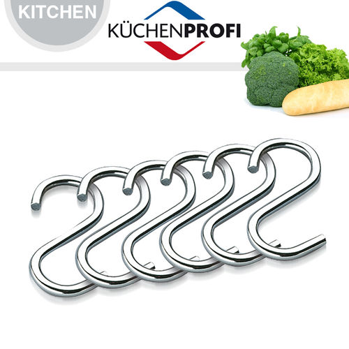 Küchenprofi - S-hooks, set of 6