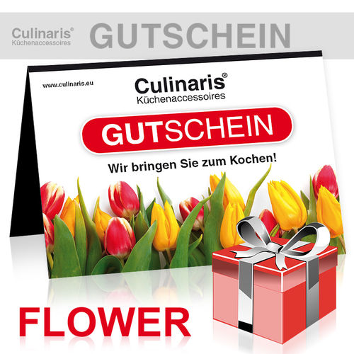 Store - Gift Coupon - Design Flower